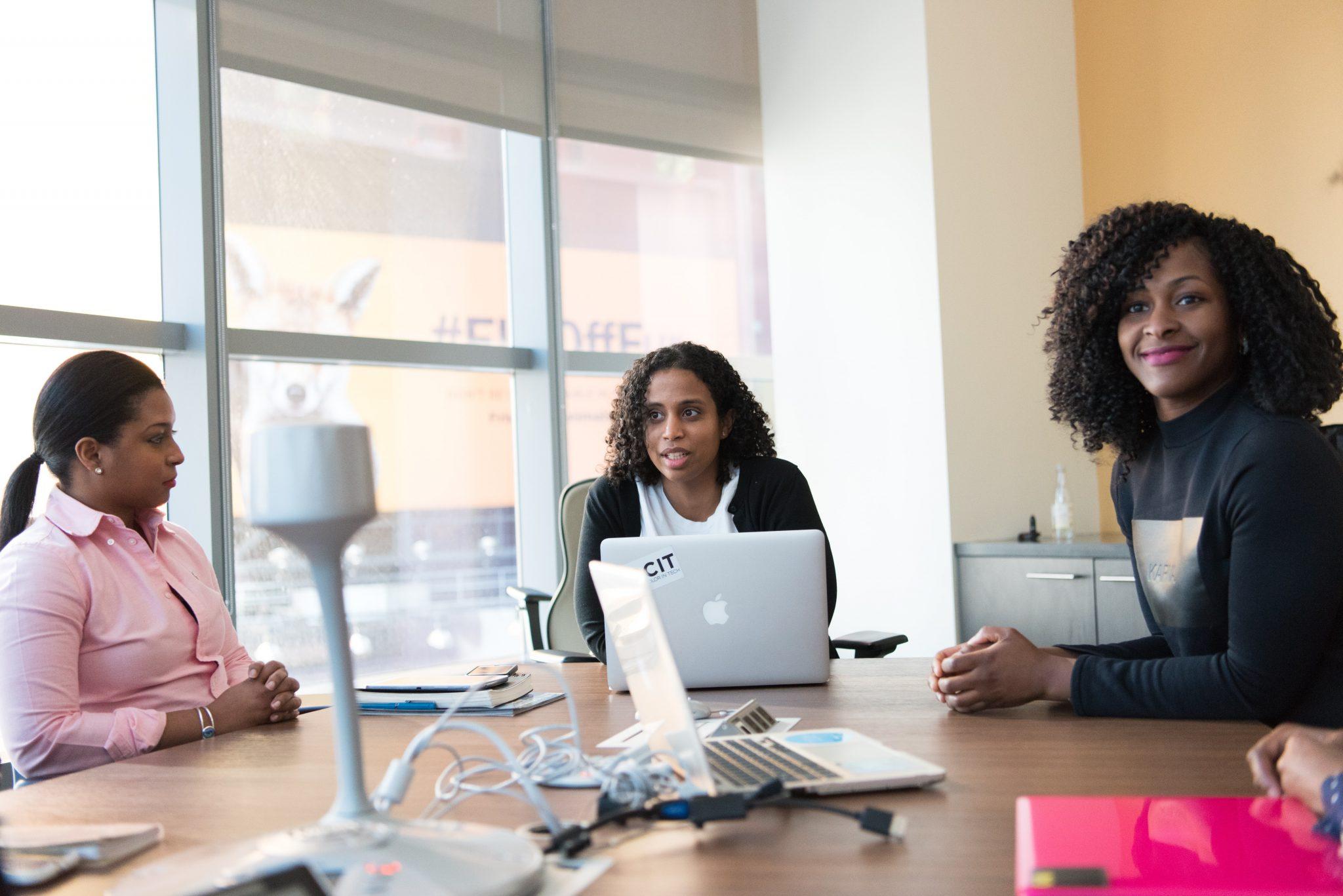 Femmes en tech au travail