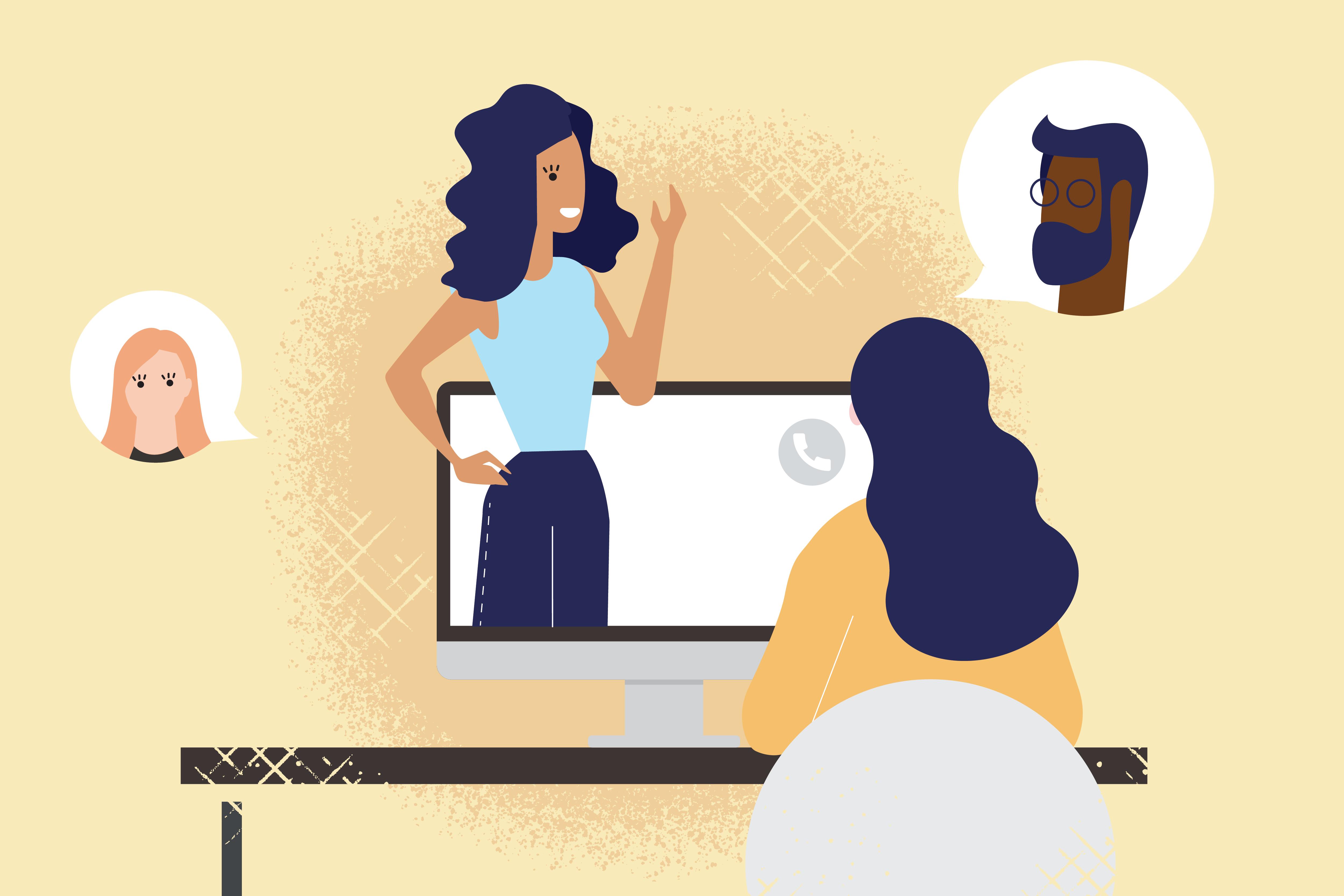 vidéoconférences inclusives
